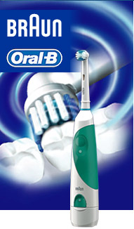 ORAL-B BATTERY TOOTHBRUSH