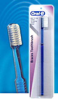 ORAL-B ORTHO (BRACES) BRUSH