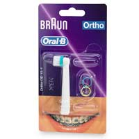 BRAUN REPLACEMENT ORTHO BRUSH