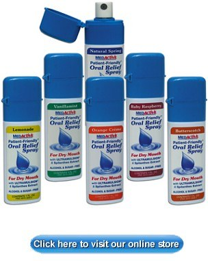 MEDORAL   DRY MOUTH SPRAY BUTTERSCOTCH