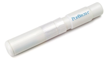 POPBRUSH  TRAVEL TOOTHPASTE AND TOOTHBRUSH