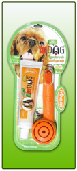 TRIPLE PET  EZ DOG FINGER BRUSH KIT