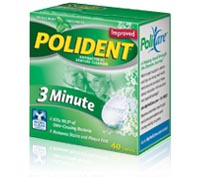 POLIDENT 108 TABLETS
