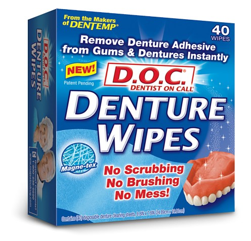 D.O.C DENTURE WIPES (40)