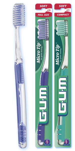 BUTLER GUM MICRO TIP SOFT COMPACT HEAD (12) 471PP